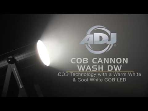 American DJ COB Cannon Wash DW Warm & Cool White LED Par