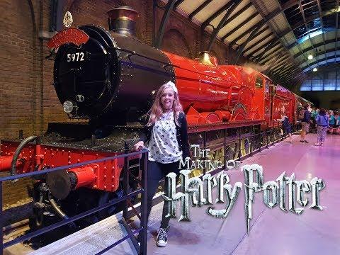 Moje zkušenosti z Harry Potter studia v Londýně + HAUL  /LEA