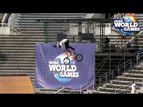 BMX Triple Hit Semifinals From Nitro World Games 2017 (видео)