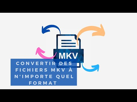 comment modifier le format audio d'un mkv