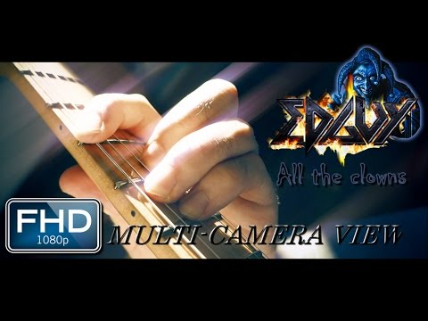 EDGUY || ALL THE CLOWNS (Guitar Cover by Pedro Favas) || MULTI-CAMERA || FULL HD (1080p) (видео)