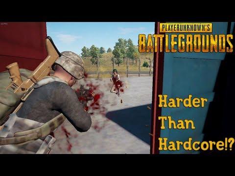 Harder Than Hardcore!?  - Battlegrounds (Challenge) (видео)