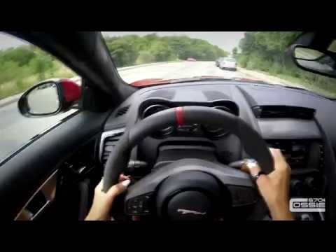 POINT OF VIEW | JAGUAR F-TYPE S | DRIVEN BY GIRL