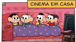 Cinema em casa   Turma da Mônica