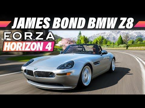BMW Z8 (James Bond Edition) – FORZA HORIZON 4 Gameplay German   Lets Play 4K 60FPS Deutsch