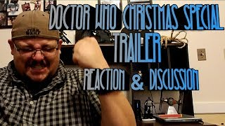 The trailer for the upcoming Doctor Who Christmas Special dropped! Let's talk about it!