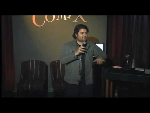Comedian Sean Patton riffs about Air Bud and Diabetes