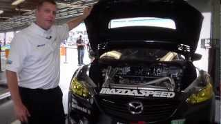 Mazda6 SkyActiv-D Race Car In Detail
