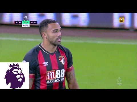 Video: Callum Wilson's header puts Bournemouth in front v. Huddersfield I Premier League I NBC Sports