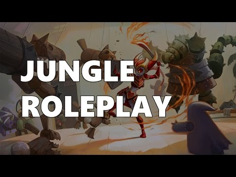 roleplaying - Jungle Roleplay Subscribe for more videos! ▻ http://bit.ly/1beaxzg Rare LoL Skins! ▻ http://www.buylolskins.com Like our Facebook page: http://facebook.com/L...