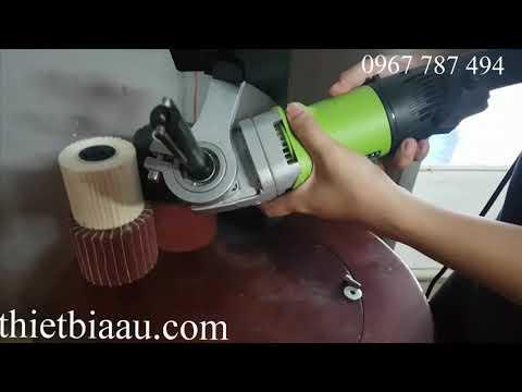 hướng dẫn rắp ráp máy đánh sọc inox lh 0967 787 494 Á Âu
