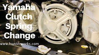 8. Yamaha X2/X4 Clutch Spring Change