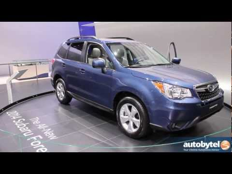 2014 Subaru Forester At The LA Auto Show