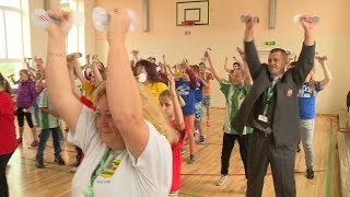 26.09.2016. Olimpiskā diena Kalupes pamatskolā