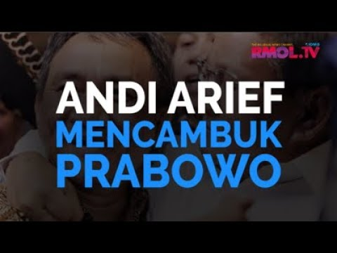 Andi Arief Mencambuk Prabowo