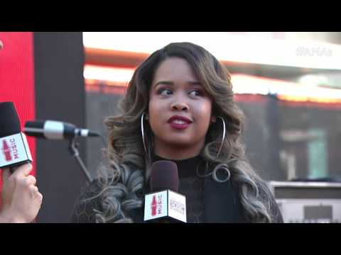 Gabi Wilson Red Carpet Interview - AMAs 2015