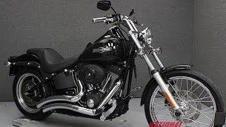 4. 2007  HARLEY DAVIDSON  FXSTB SOFTAIL NIGHT TRAIN - National Powersports Distributors