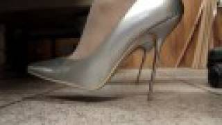 Silver Stilettos Playing