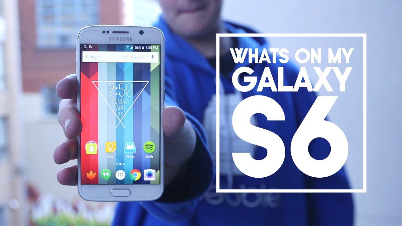 Descargar What's on my Galaxy S6! para Celular  #Android