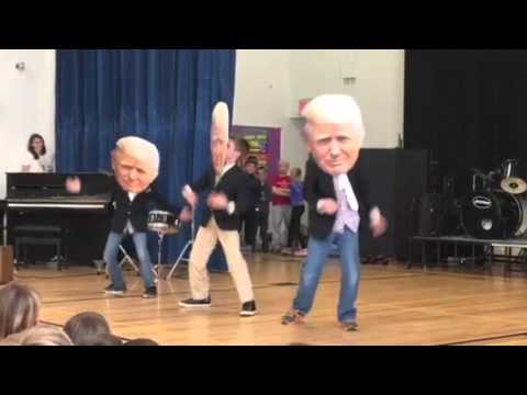 Dancing Donald Trumps Banned from Elementary School Because....