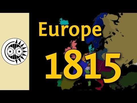 Changing the Map of Europe Back to 1815