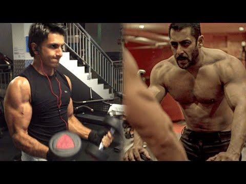 BODY SHOW Salman Khan Inspires Ranveer Singh | Bef