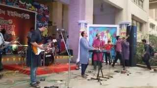Minar  Shada live at NSU
