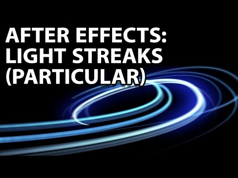 Particular - A very speedy tutorial on how to create the iPod light streaks from the commercial...