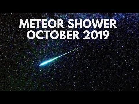 Meteor Shower October 2019