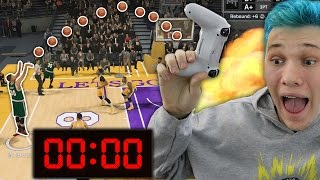 MY BEST CLUTCH SHOTS AND BUZZER BEATERS! THROUGHOUT NBA 2K
