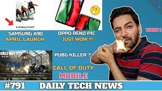 Call Of Duty Mobile (PUBG RIVAL),Samsung A90 Launch,Red Magic 3 India,Android On Feature Phones #791