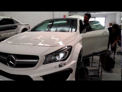 Mountage of CLA 45AMG FIRST PROJECT (видео)