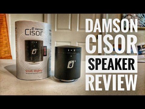 Damson Cisor Bluetooth Speaker Review