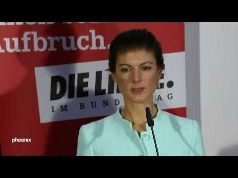Pressekonferenz der LINKE-Bundestagsfraktion am 11. ...