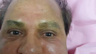 Male Microbladed Eyebrows by El Truchan