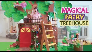 Magical Fairy Barbie TREE HOUSE