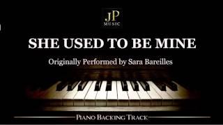 Video She Used To Be Mine by Sara Bareilles - Piano Accompaniment MP3, 3GP, MP4, WEBM, AVI, FLV Maret 2018