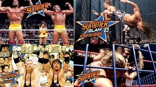 Watch Every Summer Slam in 60 Seconds!