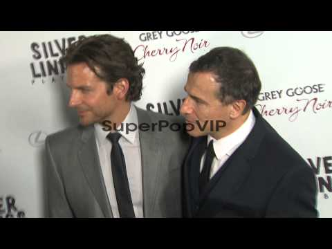 Bradley Cooper, David O. Russell at Silver Linings Playbo...