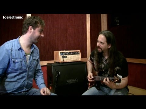 John Petrucci doing TonePrints for TC Electronic's Corona Chorus - dirty sounds