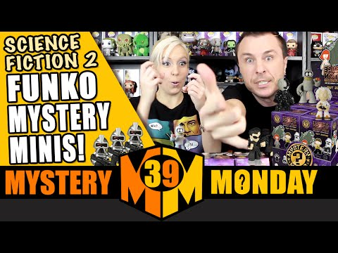 SCIENCE FICTION Funko Mystery Minis (Series 2) Part 2: Mystery Monday Ep. 39