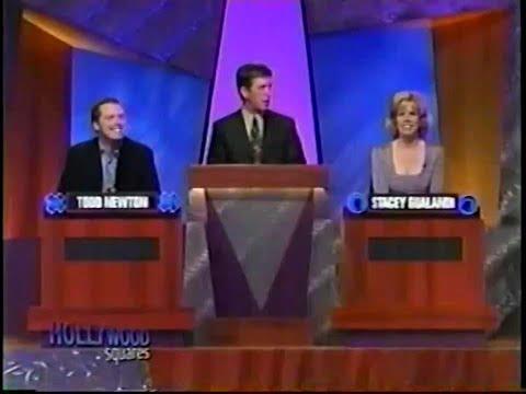 Hollywood Squares (November 22, 2001) with Todd Newton and Sharon Gualandi