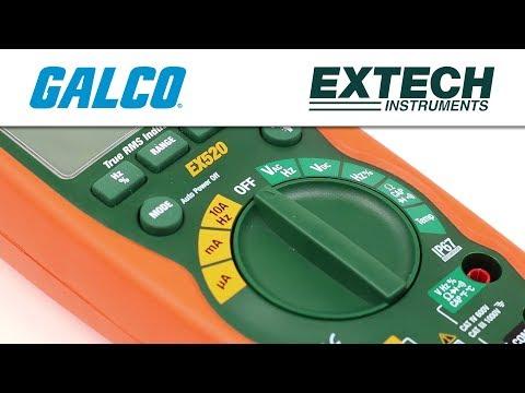 Extech's EX520 Digital Multimeter