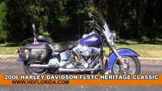 9. Used 2006 Harley Davidson Heritage Softail Classic Motorcycles for sale