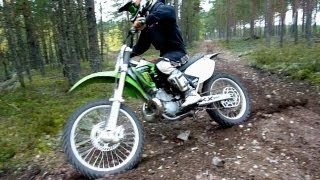 9. KX 250 FMF Gnarly.VForce3 - Autumn Ride