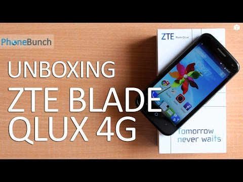 ZTE Blade QLux 4G Unboxing & Hands-on Overview - Cheapest 4G LTE Smartphone