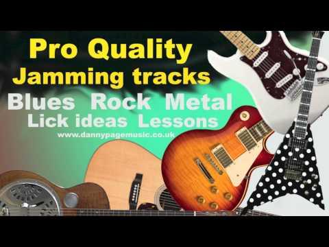 Pro quality jamming track – Dm Blues Rockabilly Shuffle Brian Setzer Style