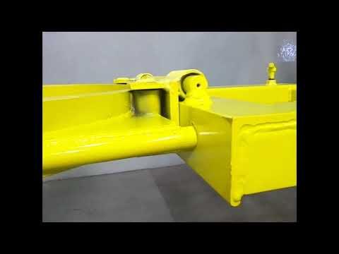 Modelos de uñas - Pinza Manipuladora de Tambores para autoelevador Modelo HD06. Capacidad 350Kg.