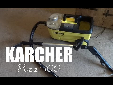 Karcher Puzzi 100 Carpet Cleaner – Full Review