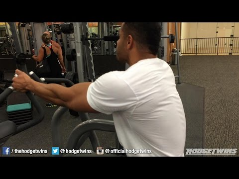 Bodybuilding Legs and Back Workout @hodgetwins